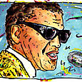 Portrait Ray Charles
