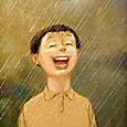 La pluie comme elle tombre (p 164)
