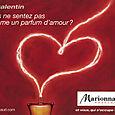 Marionnaud (affiche pour la St Valentin)