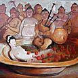 16. le bain de la geisha