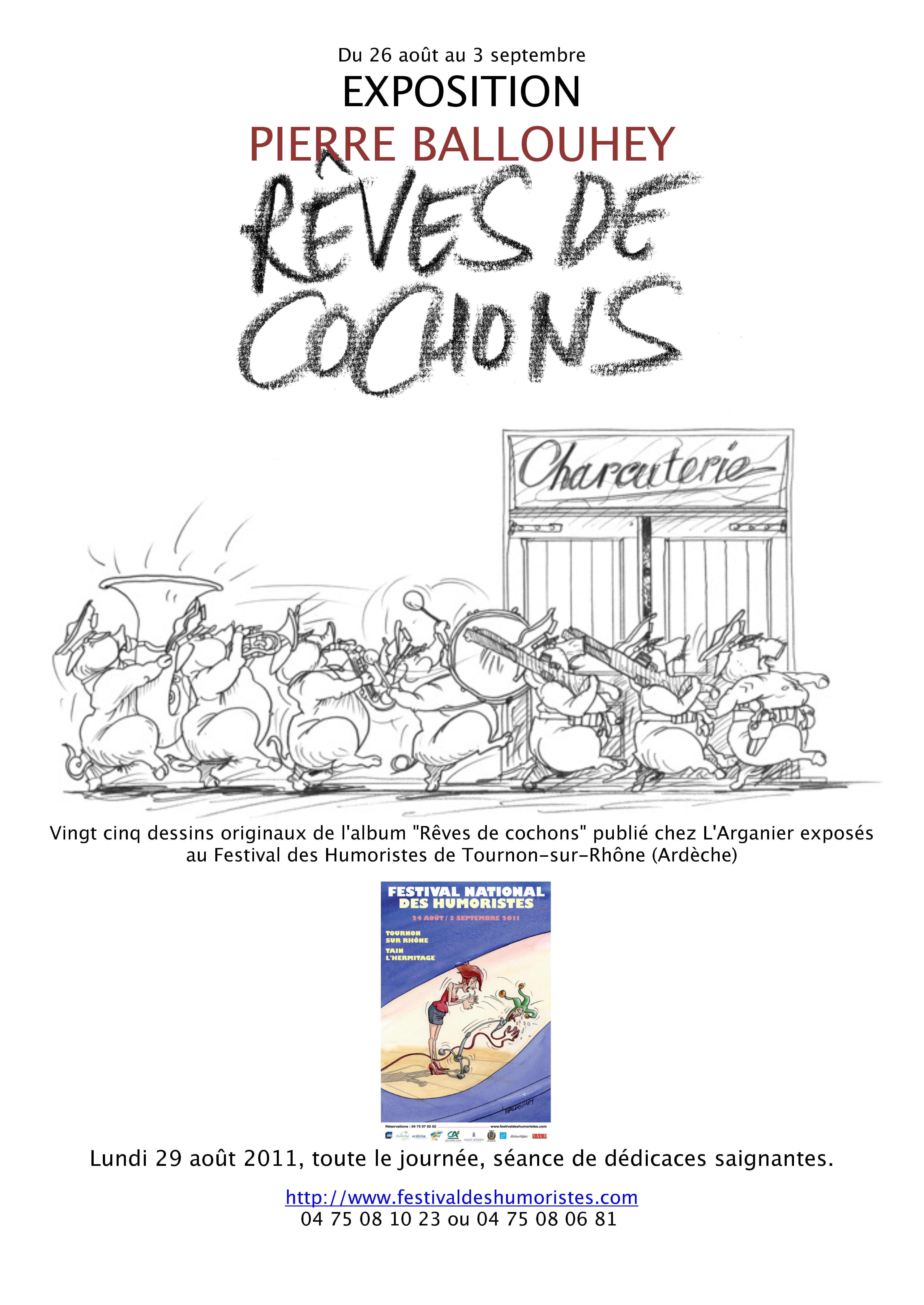Cochons à Tournon
